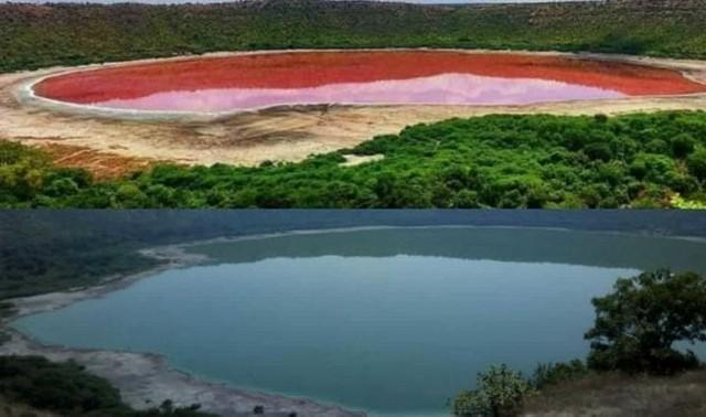 دریاچه لونار در هندوستان