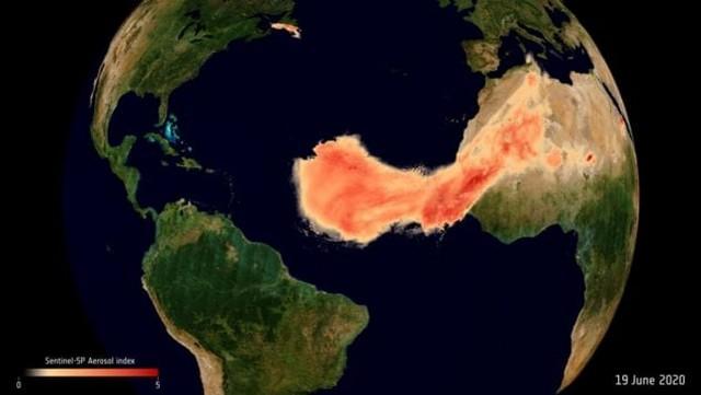 شن صحرای بزرگ آفریقا