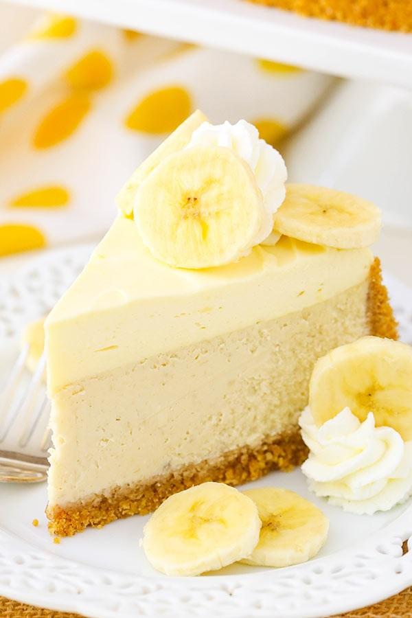 چیز کیک موزی