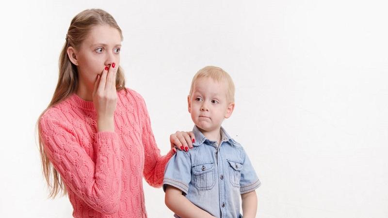حذف ناسزا گویی کودکان