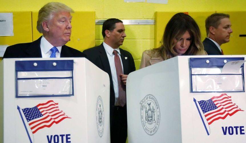 انتخابات آمریکا به روایت لحظهها (عکس)