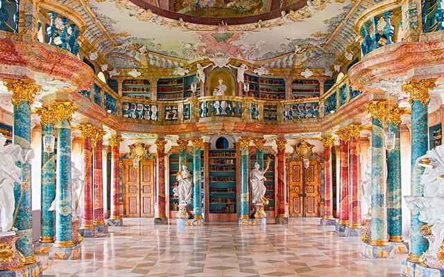 کتابخانه صومعه ویبلینگن