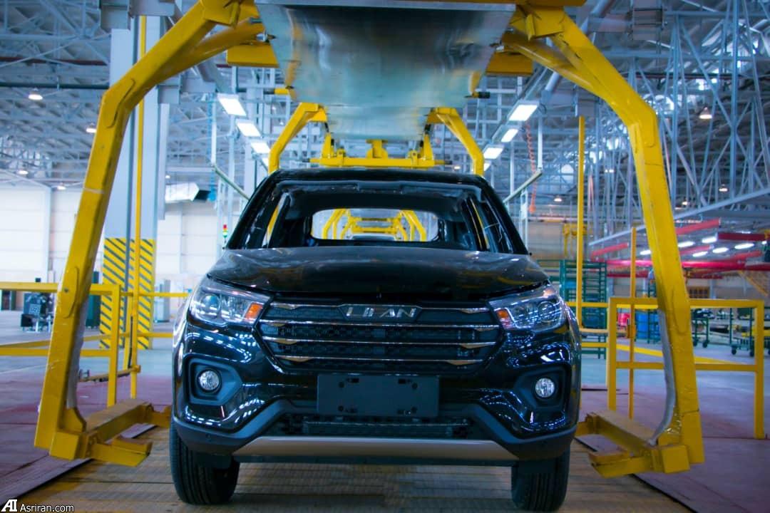 آغاز تولید جدیدترین خودروی