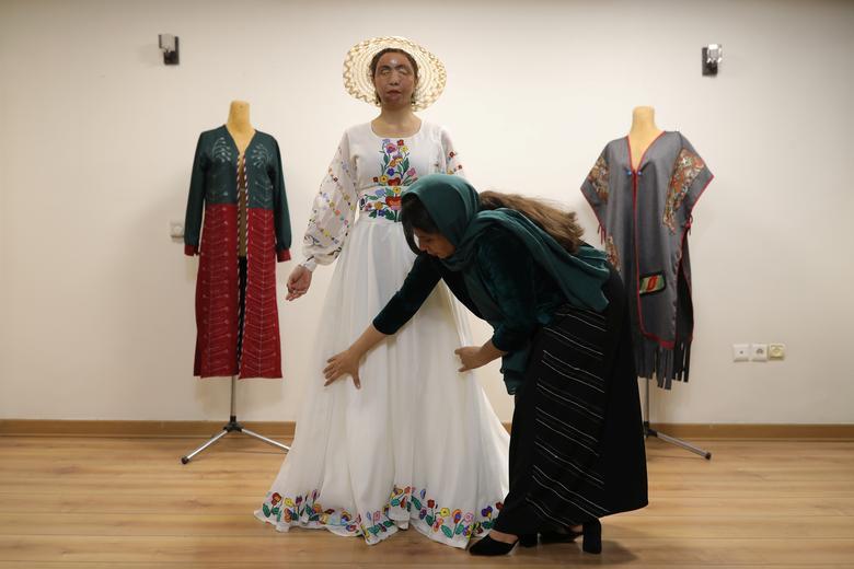 معصومه عطایی مدل لباس اسیدپاشی