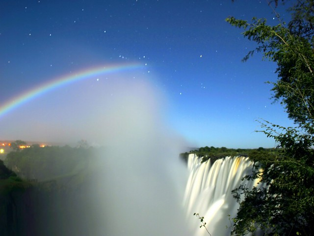 ماه کمان در کشور زامبیا