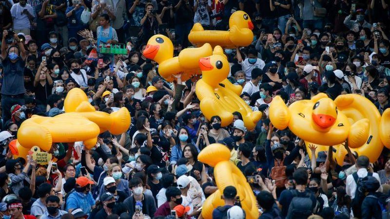 اعتراضات در تایلند