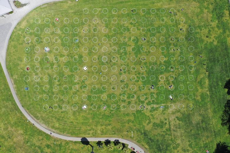 مرزبندی و فاصله اجتماعی در فضای باز