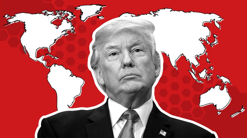 اعتماد به ترامپ در جهان