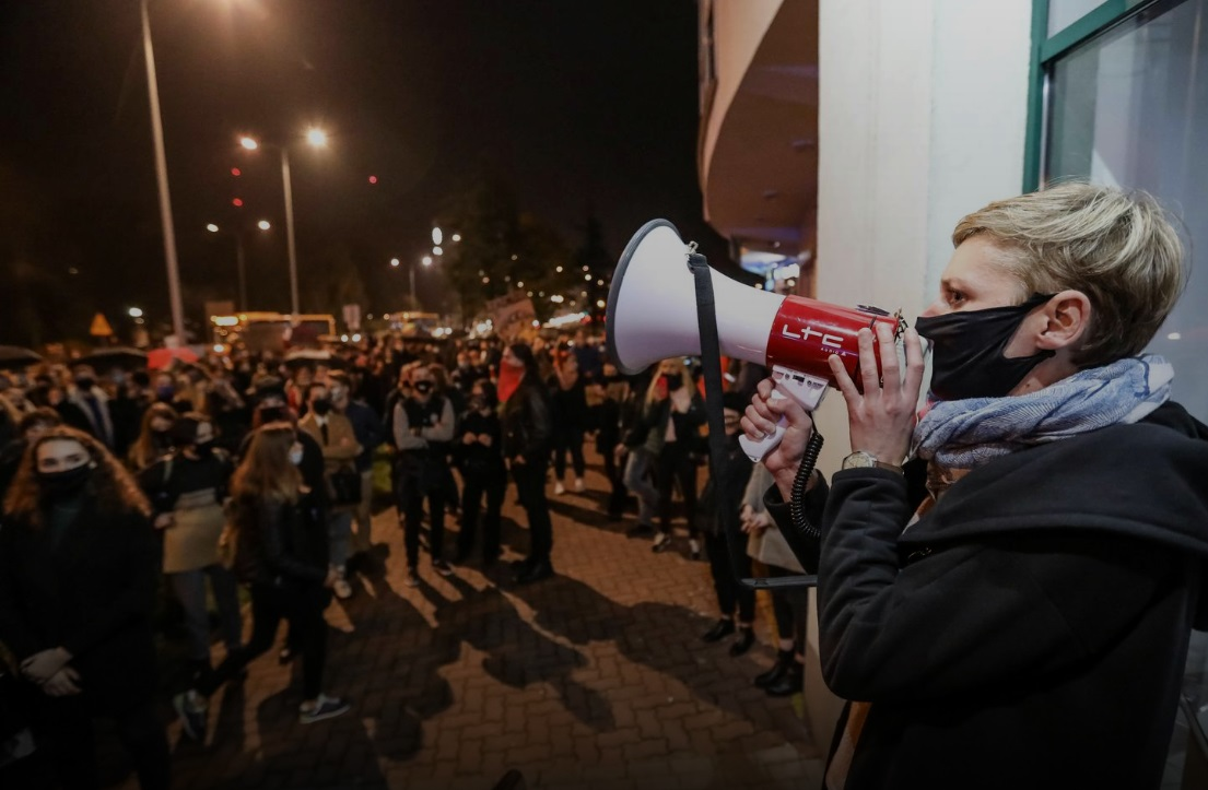 اعتراضات خیابانی به سقط جنین لهستان