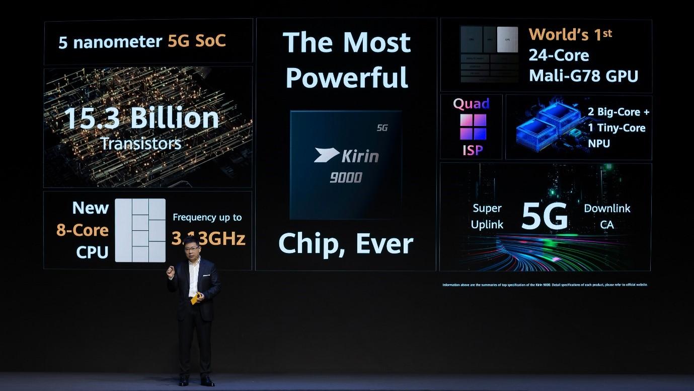 رونمایی Mate ۴۰ با قدرتمندترین پردازنده گوشیهای هوشمند