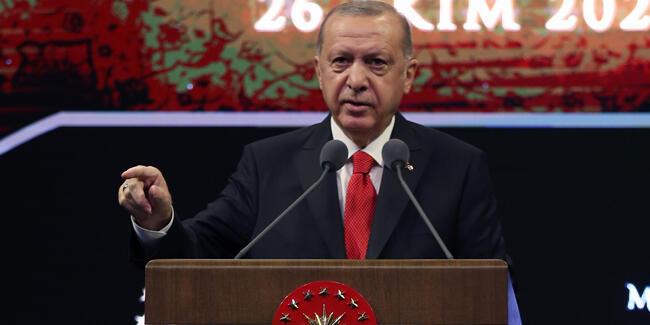 اردوغان: به هیچ وجه کالای ساخت فرانسه نخرید