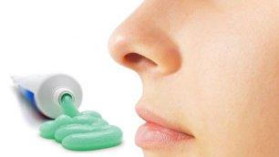 از بین بردن جوش با خمیر دندان