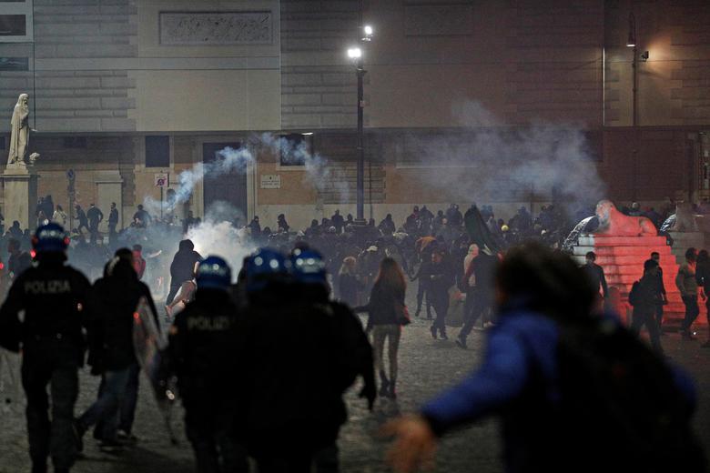 تظاهرات ضد قرنطینه اروپا