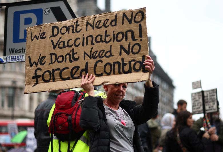 معترضان اروپایی علیه قوانین قرنطینه