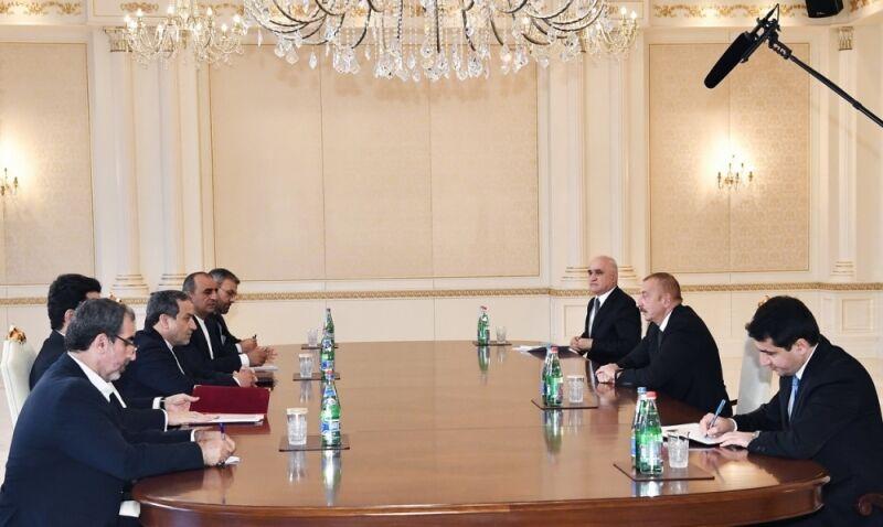 دیدار عراقچی با رییس جمهوری آذربایجان (+عکس)