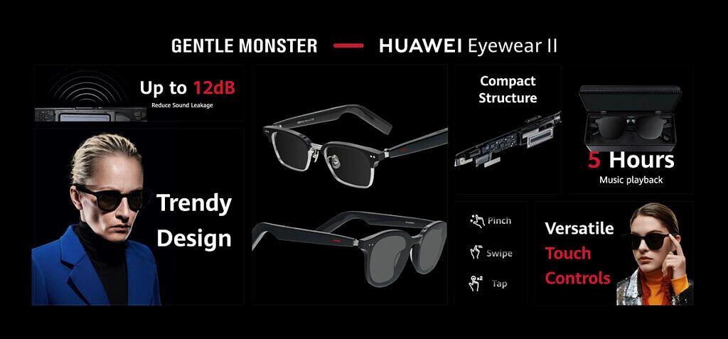 رونمایی هوآوی از ساعت هوشمند، هدفون و عینک هوشمند