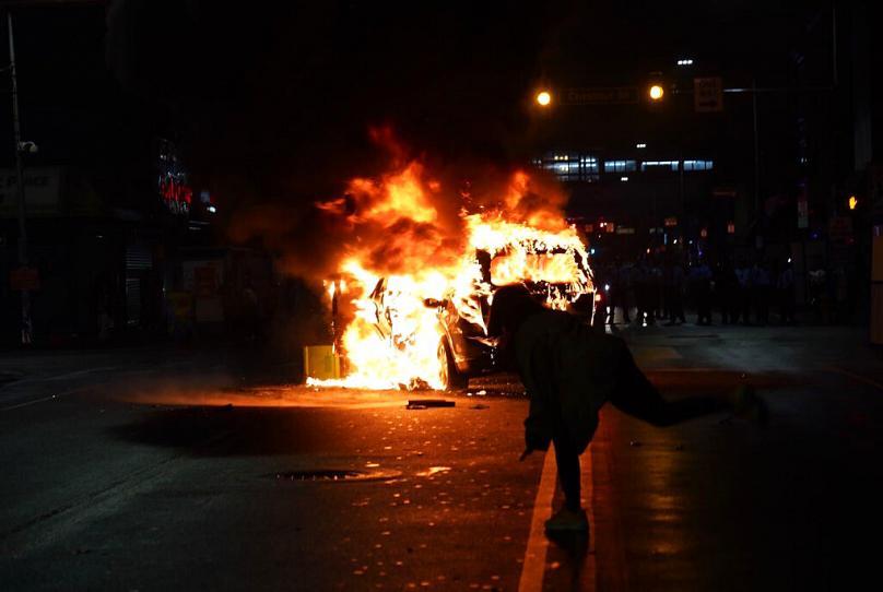 اعتراضات در فیلادلفیا
