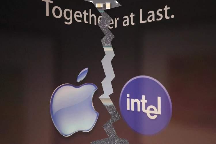 جدایی اپل و اینتل