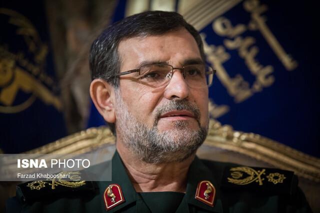 سردار تنگسیری: توان نظامی و موشکی ایران به هیچ عنوان قابل مذاکره نیست