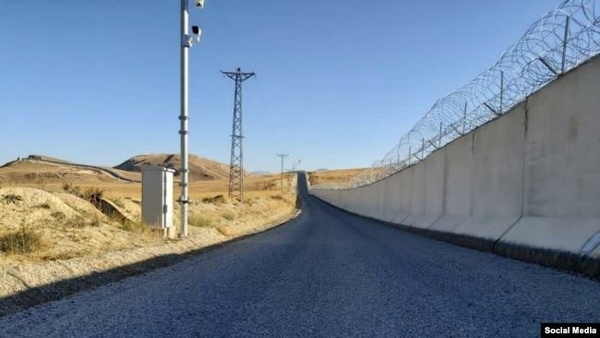 ترکیه دیوار مرزی ۸۱ کیلومتری با ایران را تکمیل کرد