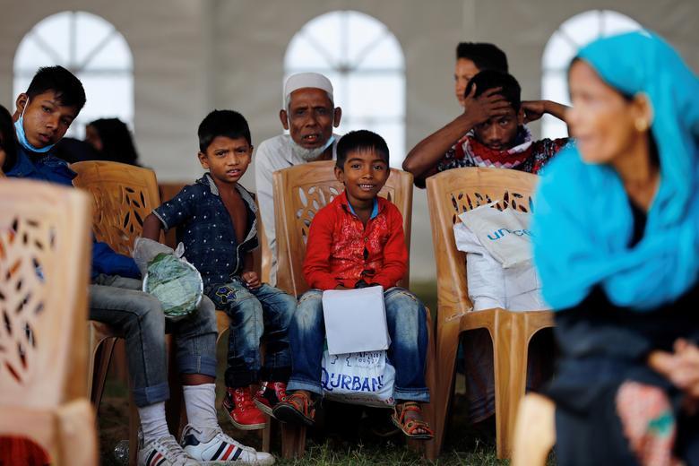 مسلمانان روهینگیا در  انتظار انتقال