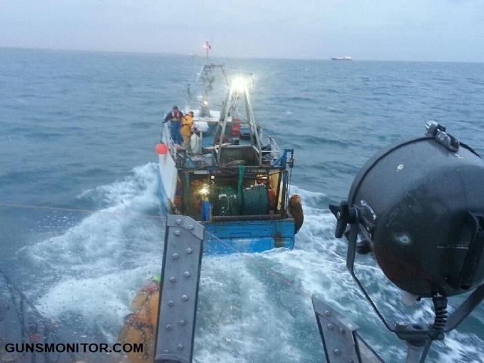 کشف مین جنگ جهانی دوم توسط ماهیگیران انگلیسی(+عکس)