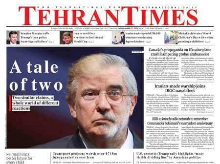 دفاع کیهان از مقایسه ترامپ و میرحسین: ترامپ به کشور خود خیانت نکرد