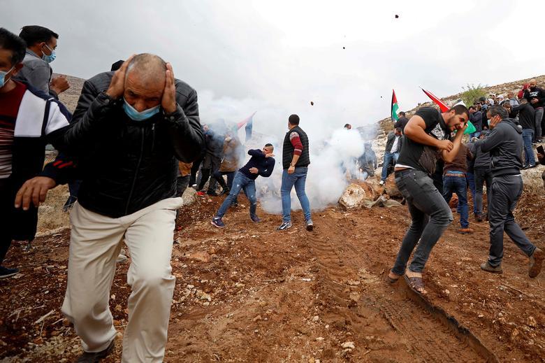 تظاهرات فلسطین علیه شهرک سازی اسرائیل