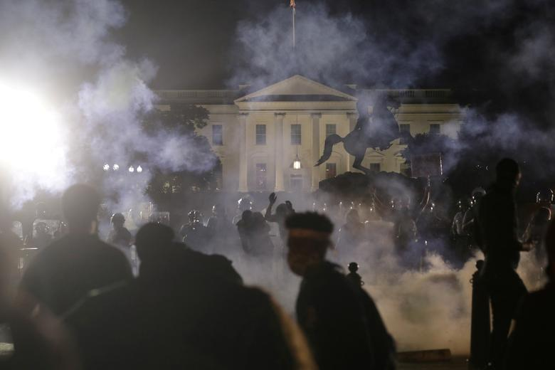 اعتراض به مرگ جورج فلوید واشنگتن