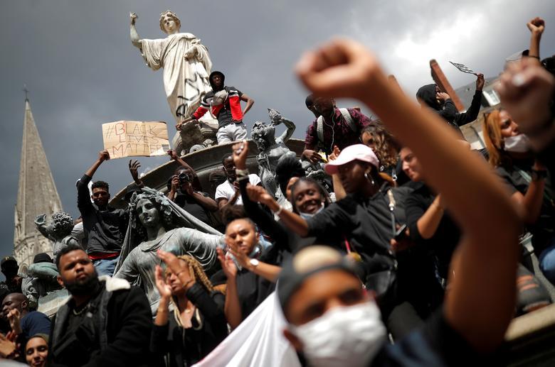 تظاهرات به مرگجورج فلوید در فرانسه