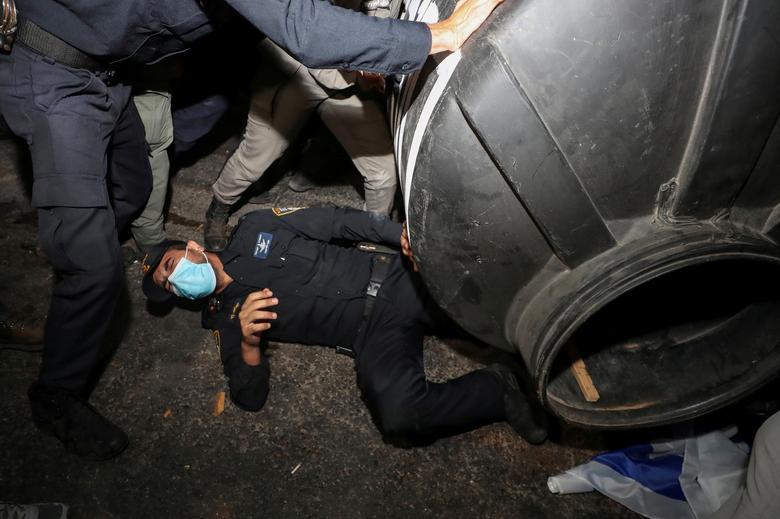 اعتراض در تل آویو
