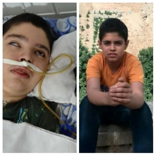 کاش معجزهای شود/ ماجرای تلخ پسری که در ۱۳ سالگی به کما رفت و در ۱۹ سالگی بیدار شد