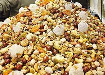 قیمت آجیل شب یلدا؛ ۱۲۰ تا ۱۷۰ هزار تومان