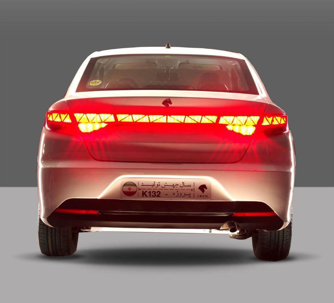 خودروی جدید ایران خودرو