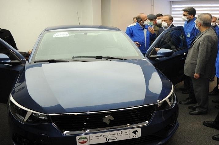 با حضور وزیر صنعت، معدن و تجارت: خودروی جدید ایران خودرو