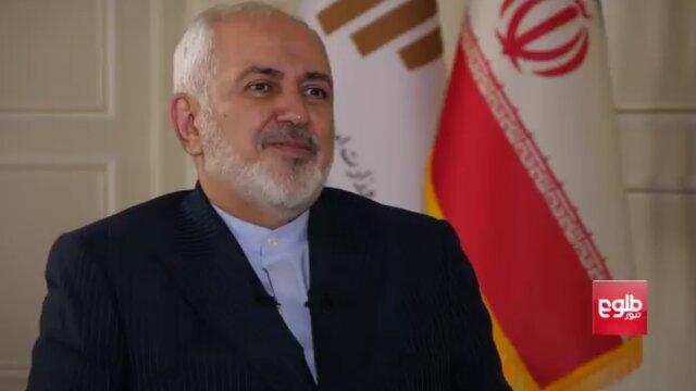 ظریف: ایران هنوز طالبان را از لیست تروریستی خارج نکرده است/ آمریکا باید از منطقه خارج شود