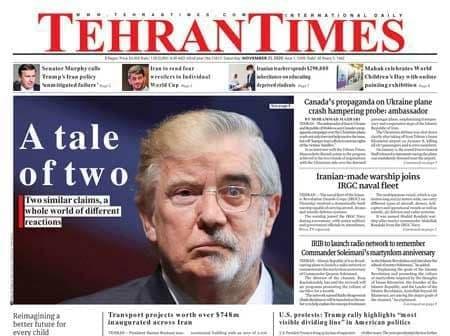 انتقاد سلیمی نمین از عکس جنجالی میرحسین موسوی و ترامپ: لج یگدیگر را در نیاوریم / چرا به زخم کهنه ناخن می کشید؟