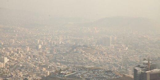 آلودگی هوای تهران 8 روزه شد