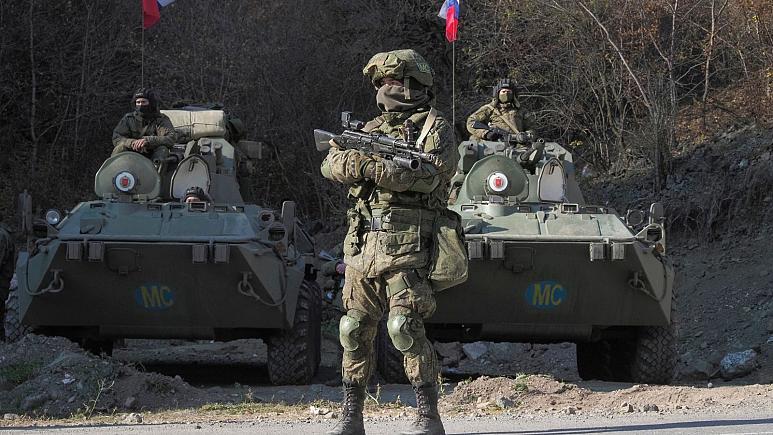 صلح بانان روسی در قره باغ