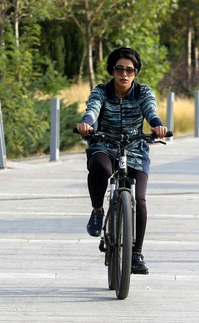 هدف تهران؛ نبرد با شیبها و دوستی با دوچرخه (+عکس)