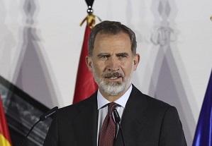 پادشاه اسپانیا قرنطینه شد