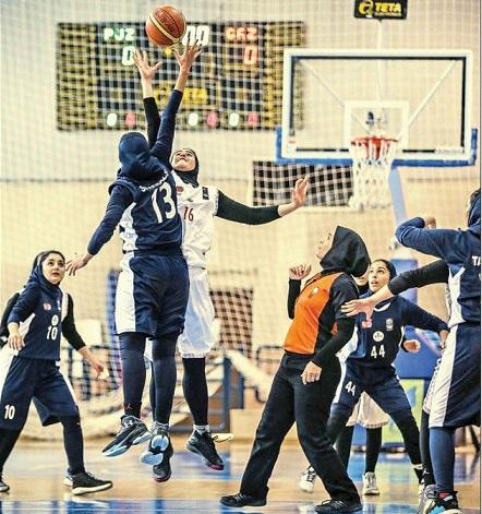 پخش زنده مسابقات بسکتبال زنان برای اولین بار