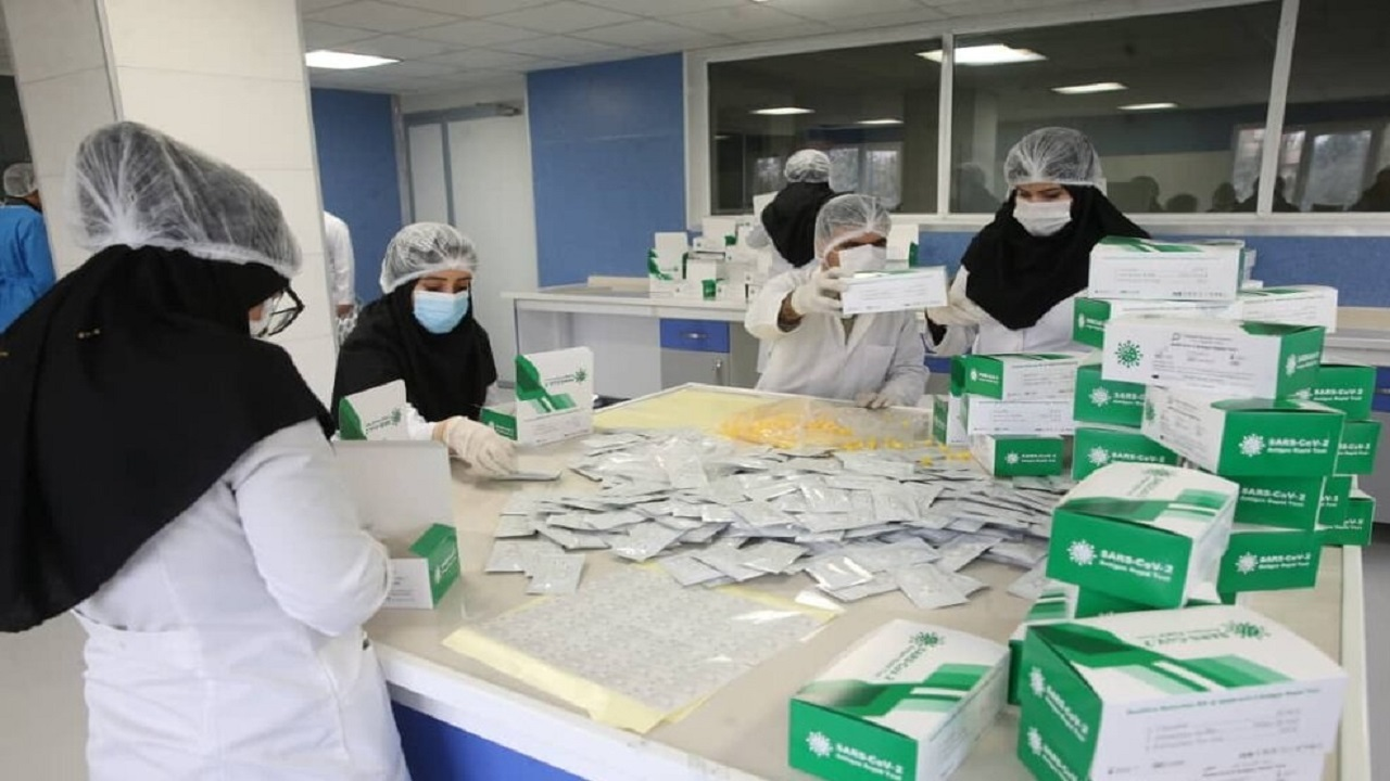مقایسه انواع تستهای کرونا در ایران