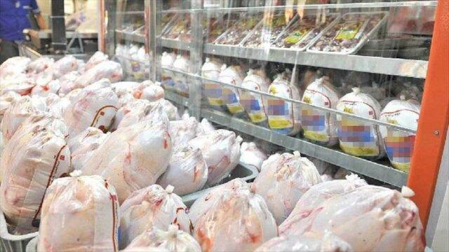 توزیع مرغ گرم در فروشگاه های زنجیره ای از فردا شنبه