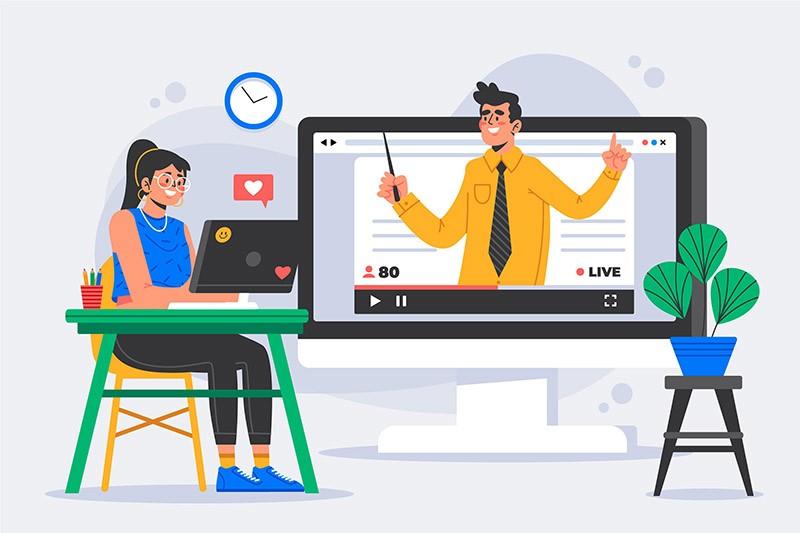 مزایای آموزش آنلاین زبان