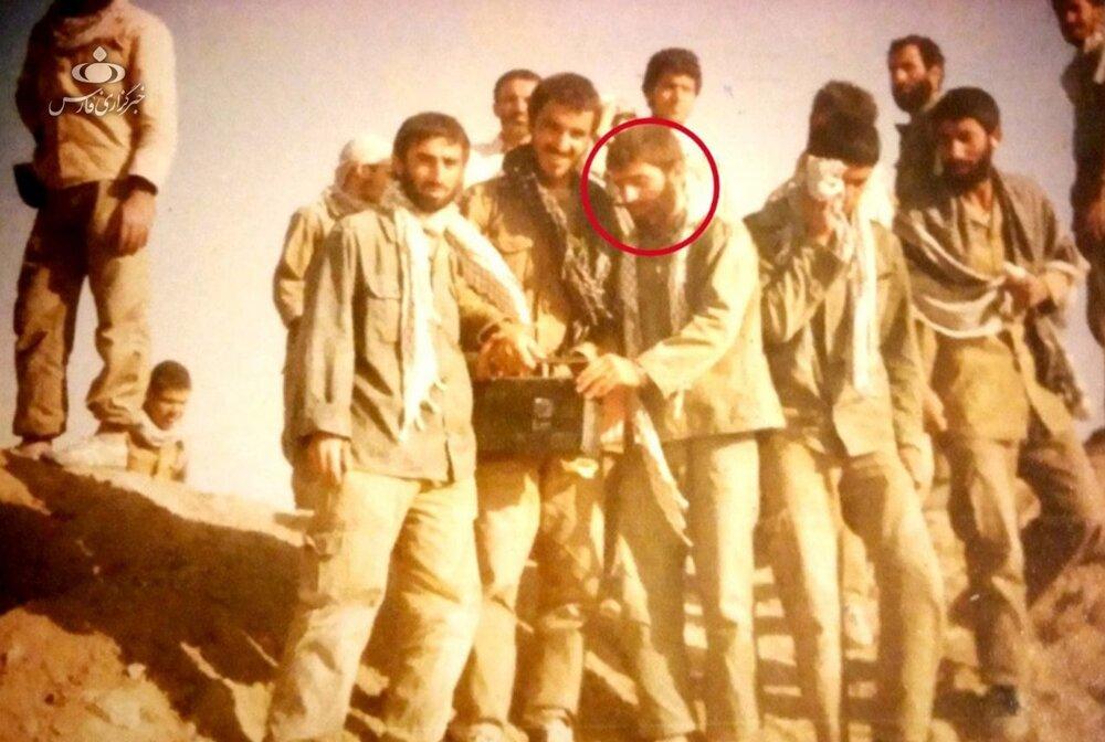 عکس منتشرنشده شهید فخریزاده در دوران دفاعمقدس (عکس)