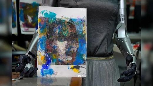 اثر هنری یک ربات که 688 هزار دلار فروخته شد (+عکس)