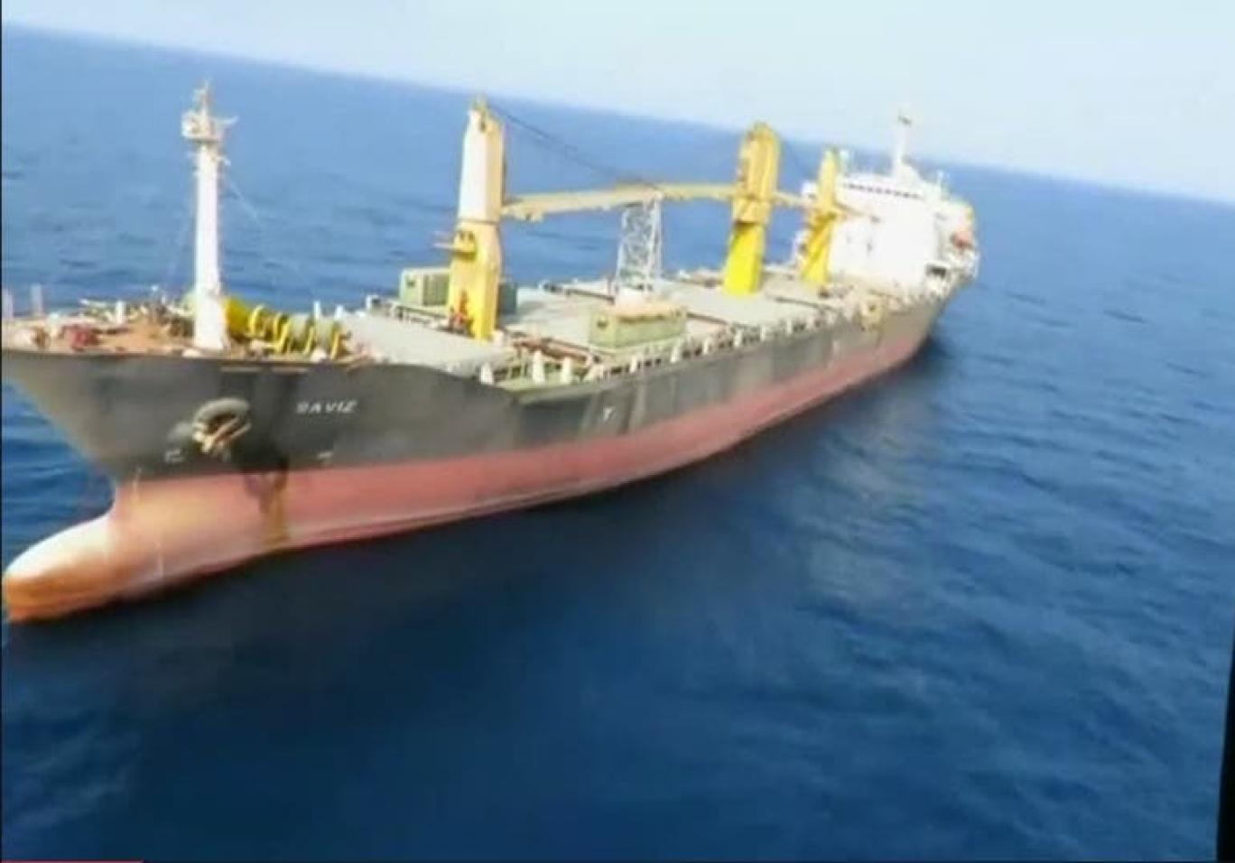 کشتی ساویز انفجا