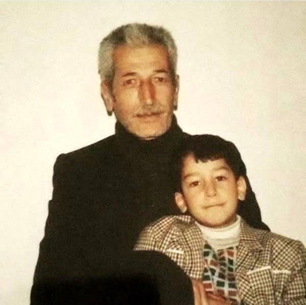 عکس اینستاگرامی بهرام افشاری بازیگر سریال پایتخت به همراه پدربزرگش