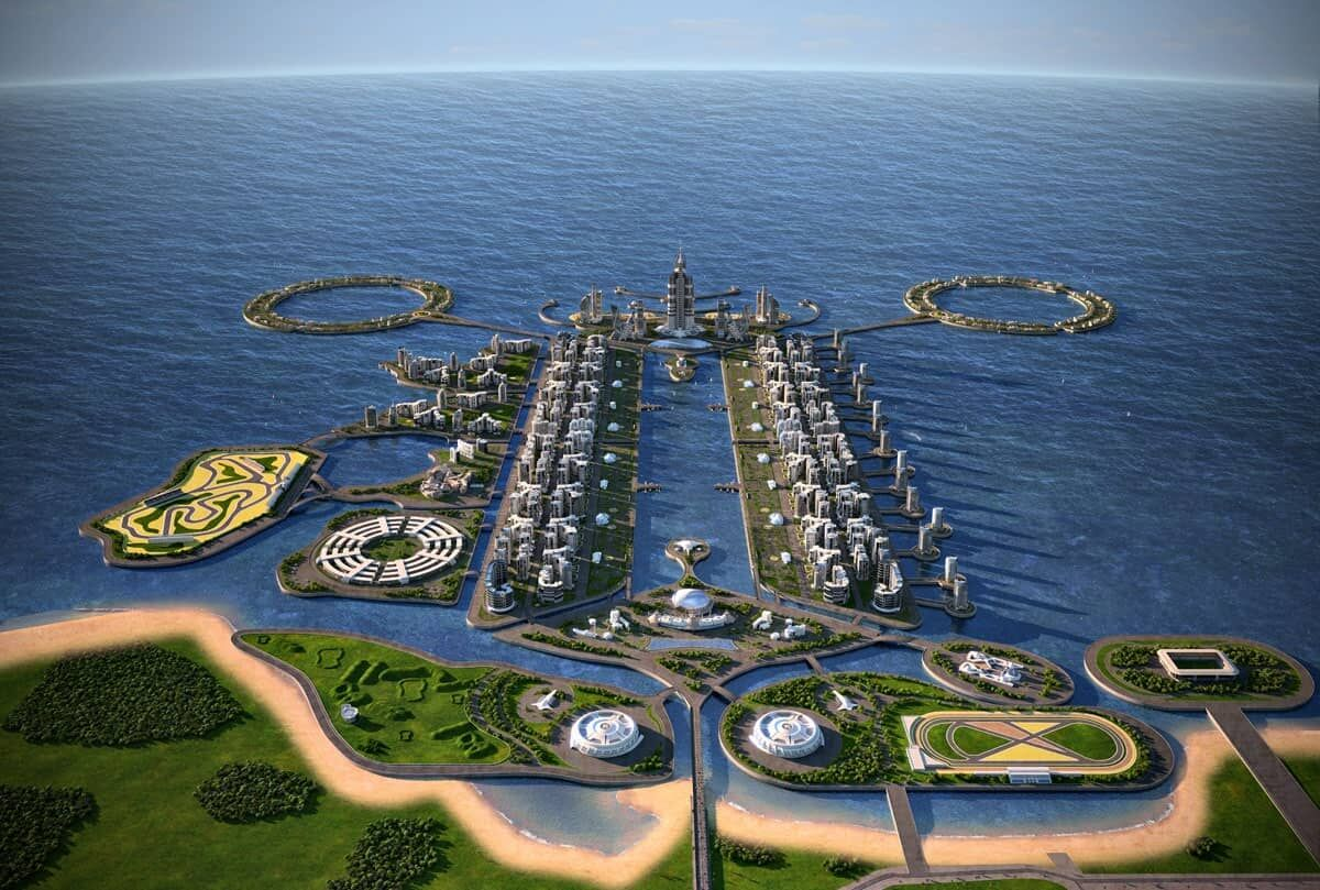 محیط زیست مازندران مجوز ساخت جزیره مصنوعی صادر نکرد